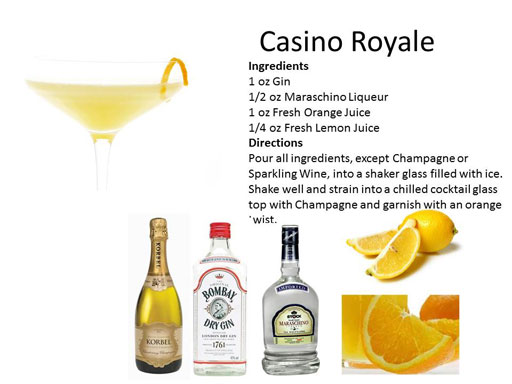 casino royale drink
